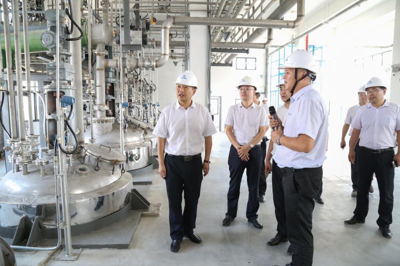 张秀山调研工业经济发展情况